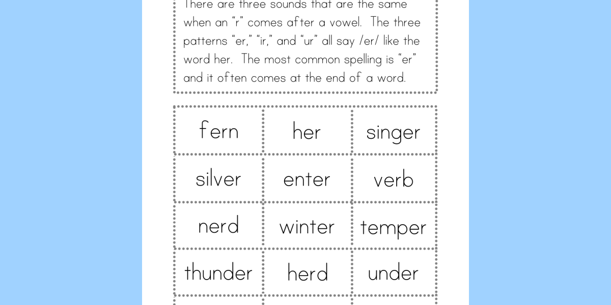 "Bossy ""R"" Word Sorts - Literarily"